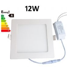 JSG Accessories® LED Square Recessed Ceiling Panel down Light Ultra-slim Lamp Ultra-Thin 12W